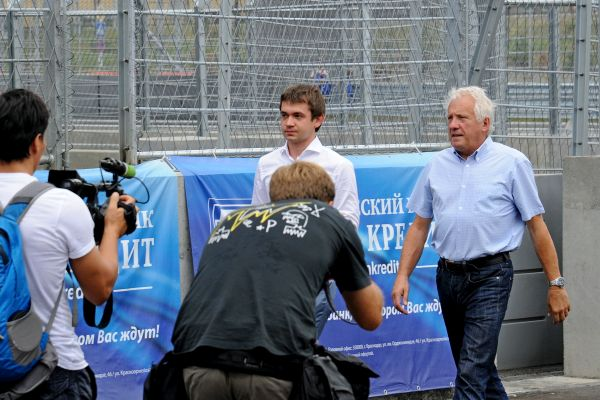 FIA Formula 1 race director Charlie Whiting, visited Sochi Autodrom